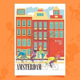 Affiche d'amsterdam