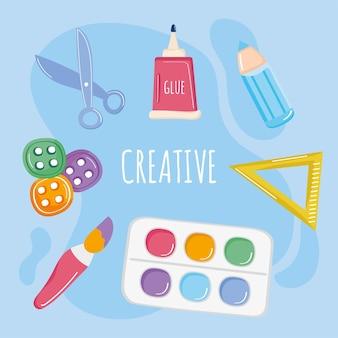 Affiche des ateliers créatifs