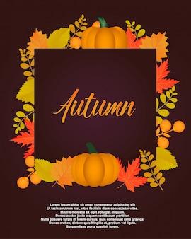 Affiche d'automne