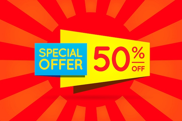 Affiche de bannière de signe de vente prête pour le web et l'impression. . super, méga, énorme vente avec offre spéciale