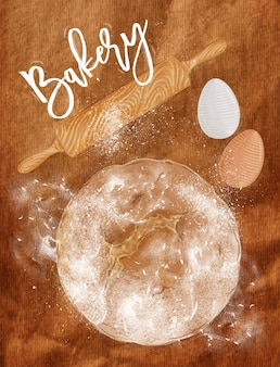Affiche boulangerie artisanale