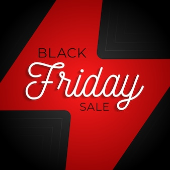 Affiche carrée black friday flash grande vente
