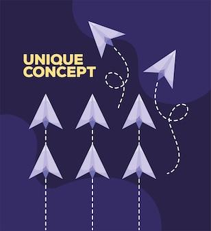 Affiche concept unique