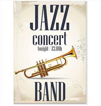 Affiche de concert jazz
