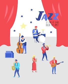 Affiche de concert de jazz
