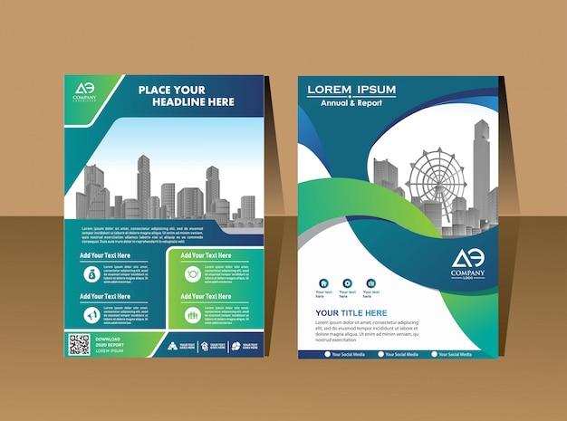 Affiche de couverture de conception