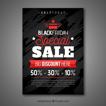 Affiche de vente vendredi noir