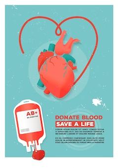 Affiche des donateurs
