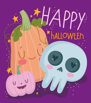Affiche drôle de joyeux halloween