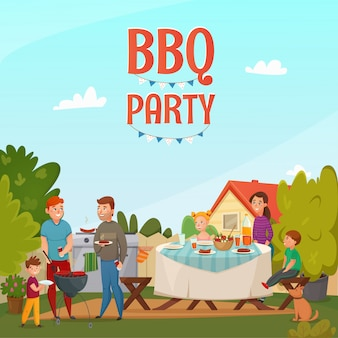 Affiche du barbecue