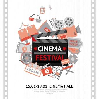 Affiche du festival du cinéma