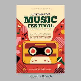 Affiche du festival de musique abstraite