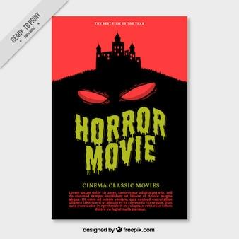 Affiche du film effrayant
