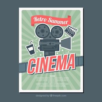 Affiche du film vintage