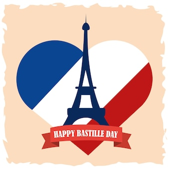 Affiche du jour de la bastille