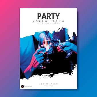 Affiche du parti