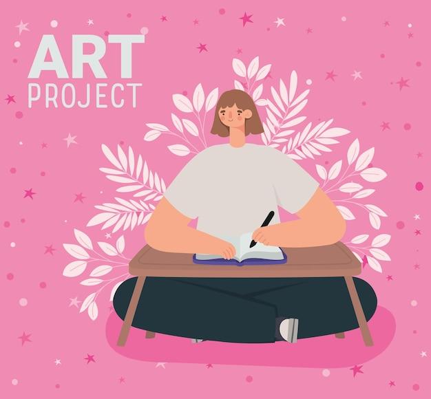 Affiche du projet artistique