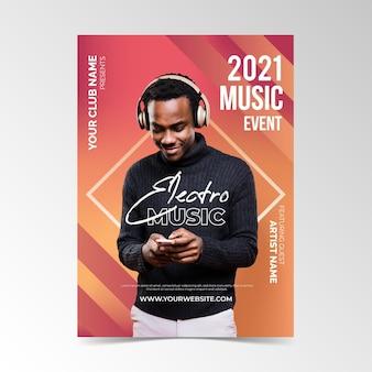 Affiche de l'événement musical 2021