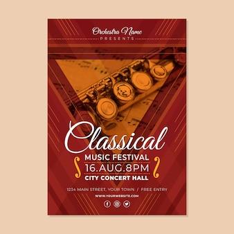Affiche de l'événement musical thème 2021