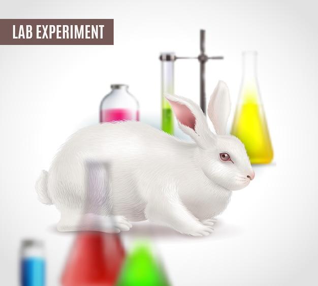 Affiche d'expérience de laboratoire