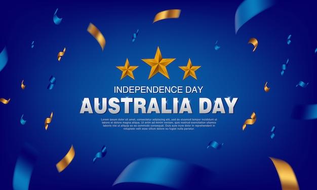 Affiche de la fête de l'australie
