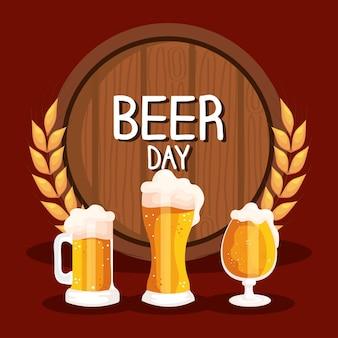 Affiche de la fête de la bière