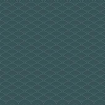 Affiche de fond d'écailles bleu foncé