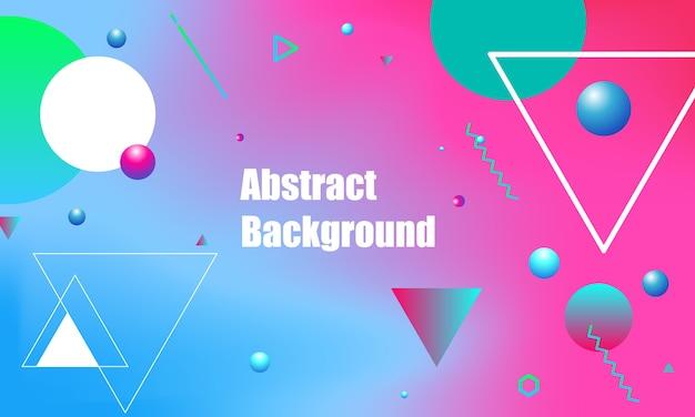 Affiche de fond géométrique abstrait conception de flyer.