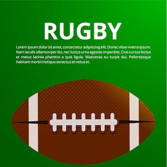 Affiche de football américain, bannière et brochure modèle de conception de vecteur.