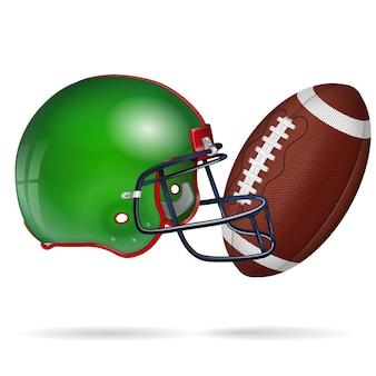 Affiche de football américain