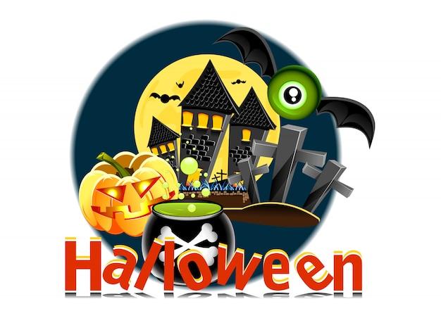 Affiche d'halloween