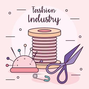 Affiche de l'industrie de la mode
