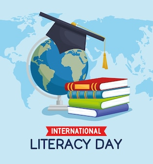 Affiche de la journée d'alphabétisation