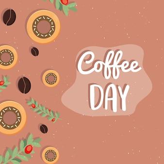 Affiche de la journée du café