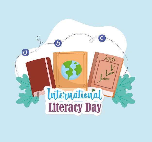 Affiche de la journée internationale de l'alphabétisation