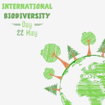 Affiche de la journée internationale de la biodiversité