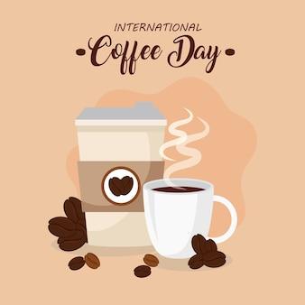 Affiche de la journée internationale du café