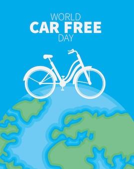 Affiche de la journée sans voiture