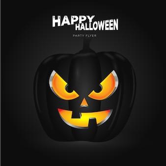 Affiche de joyeux halloween