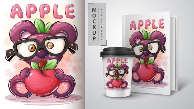 Affiche et merchandising sweet bear