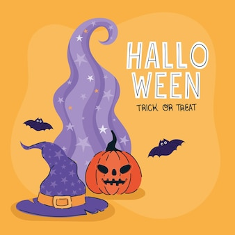 Affiche mignonne d'halloween