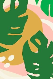 Affiche à motifs de fleurs lumineuses et colorées