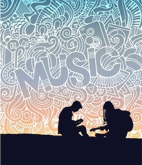 Affiche musicale