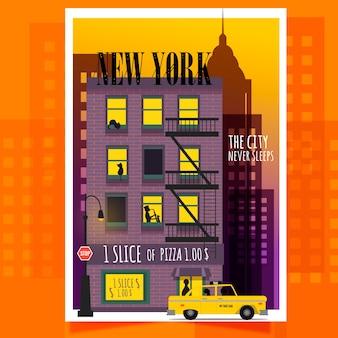 Affiche de new york