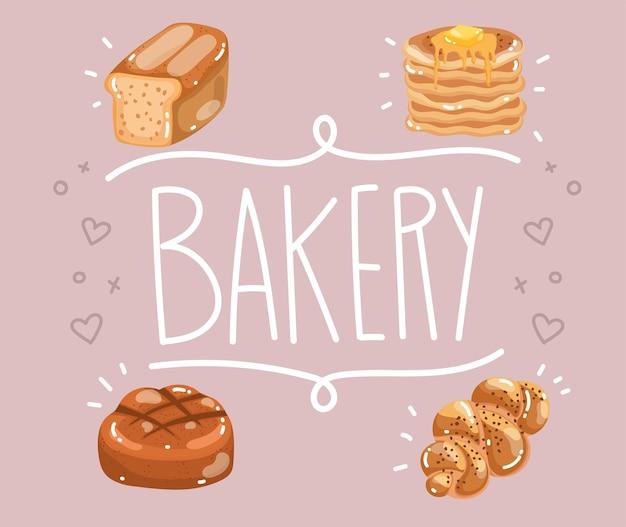 Affiche de pain de boulangerie