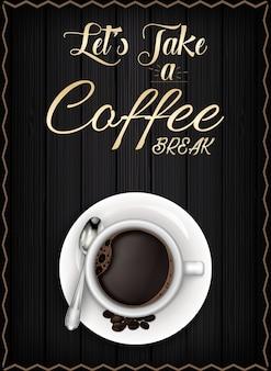 Affiche de pause café