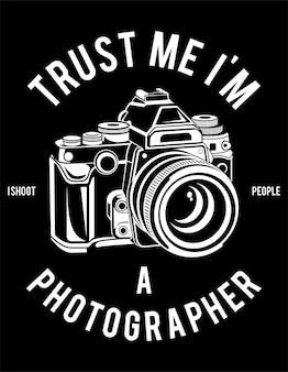 Affiche photographe