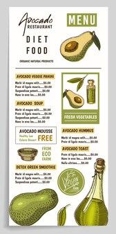 Affiche de produit bio naturel biologique