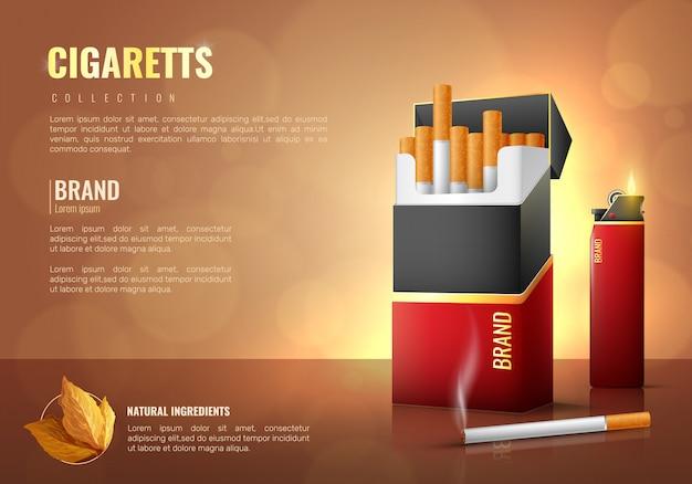Affiche de produits du tabac