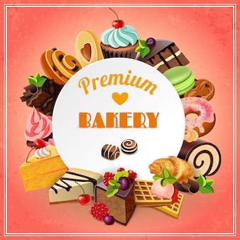 Affiche de promotion de la boulangerie
